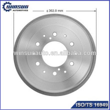Auto brake drums 4243125070 for TOYOTA HILUX