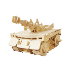 Boutique Colourless Wood Toy Vehicles-Tank