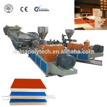 /WPC Junta que hace la máquina de espuma, PVC espumado placa extrusión línea para material de construcción