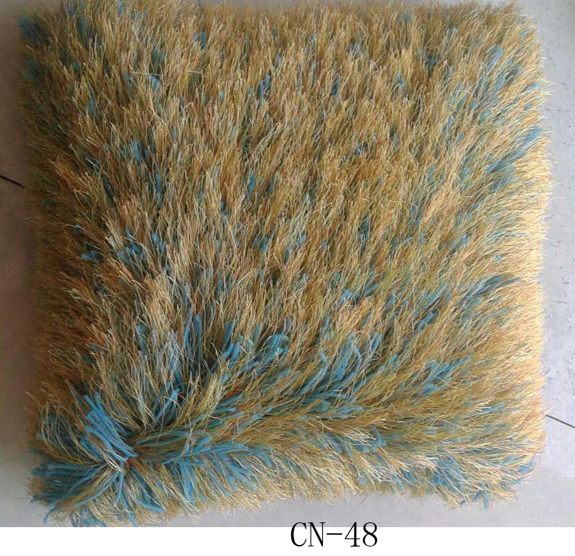 Polyester Shaggy Pile Cushion