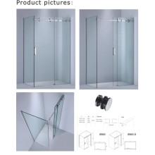 8mm / 10 mm de espesor de vidrio rectángulo bañera pantalla / ducha deslizante recinto (kw05)