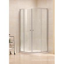 Vidrio templado marco de aluminio corredizo deslizante cubículo de ducha (B11)