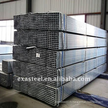 Rail Fence ERW tuyau en acier galvanisé carré / GP Pipe