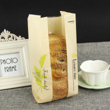 bakery shop bread packing paper bag
