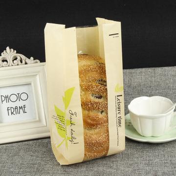 пекарня магазин хлеб упаковка бумажный пакет