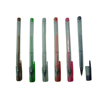 Plastic Gel Pen for Promotion