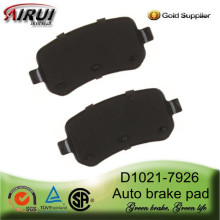 D1021-7926 Rear Brake Pad for Ford Saloons