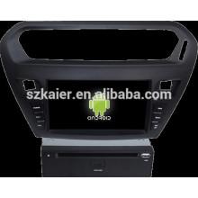 Lecteur DVD de voiture pour Peugeot 301 avec système Android