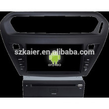 Car DVD Player for Peugeot 301 with Android system
