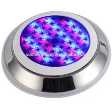 LED de luz de piscina impermeable de acero inoxidable LED de luz subacuática RGB cambio de color llevado luz subacuática llevó