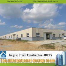 Fábrica prefabricada de acero de Turquía de bajo costo y alta calidad