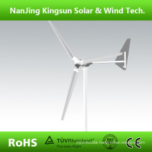 2015 Hot Selling New Model 3000W Wind Generator 3 Blades with Tail Turned Brake Protection, CE Approved + 3 Years Warranty