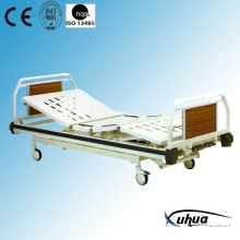 Three Cranks Hi-Low Adjustable Manual Hospital Medical Bed (A-7)