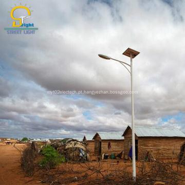 Longa vida útil levou luz de rua solar