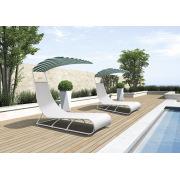 Outdoor New & Leisure Design Salão de sol de Rattan