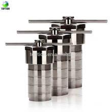 Autoclave Téflon 150ml, réacteur hydrophilique d'autoclave de synthèse doublé par PTFE 150ml, réservoir 3Mpa de Digestion à haute pression