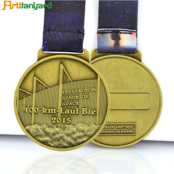 Custom Logo Metal Medal For Corporate Medals