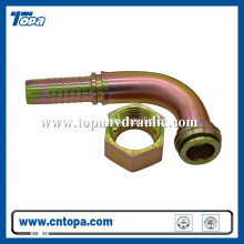 flexible hose parker cylinder aeroquip hydraulic fittings