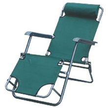 Cadeira de gravidade zero reclinável para cadeira de praia exterior ou interior