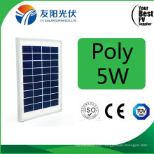 5W High Quality Poly Solar Panel for Pico Solar System