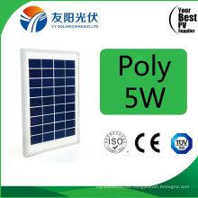 5W High Quality Poly Solar Panel for Pico Solar System