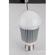 100-240V AC 930lm E27 12W LED bombilla