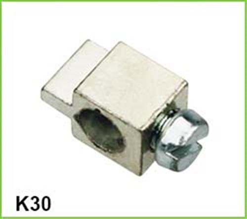 skew solid brass terminal block