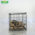 galvanized welded gabion box cage bread dip box