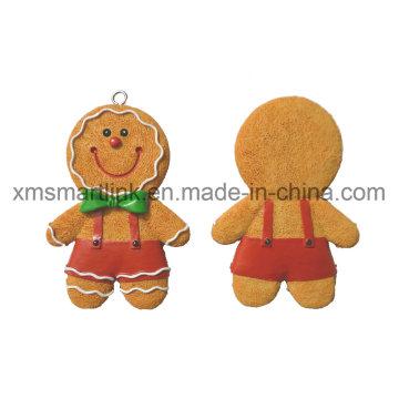Figurine en résine de sculpture Gingerbread Cadeaux Décoration