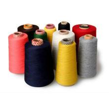 Hilado de calcetín de mezcla de nylon de algodón de alta tenacidad
