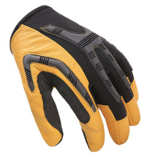 High Visibility Impact Drilling Shock Work Mechanical Gloves