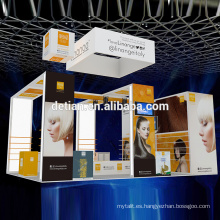 Detian Offer Stand de stand de exhibición de exhibición de gama alta show show stand portátil