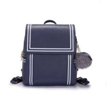 High quality PU leather backpack ball ornaments