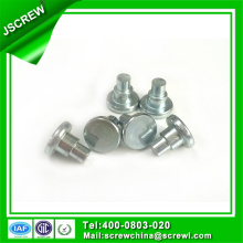 Round Head Stainless Steel Flat Head Semi-Hollow Rivet