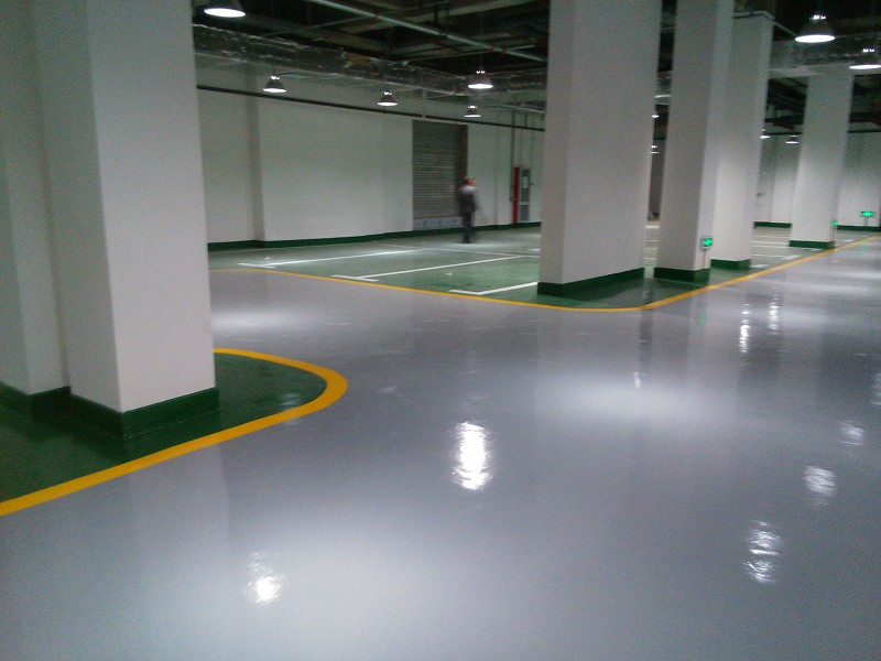 non slip epoxy floor coating