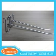 светлая обязанность серебро с покрытием одного металла провода дисплея крюк