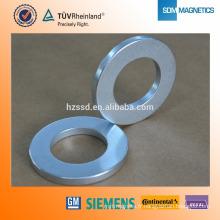 Aimant en anneau de néodyme N52 recouvert de nickel pour les compteurs