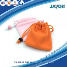 2016 Promotion Cheap Microfiber Jewelry Pouch