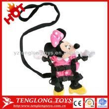 Petite poupée en peluche mini haute qualité avec une ceinture pour bébé