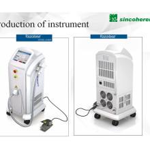 O Ce médico aprovou o laser do diodo 808 / 810nm para o equipamento da beleza da remoção do cabelo