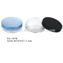 plastic loose powder containers