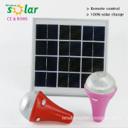 9W Multi-function Energy Charging Light With Mobile solar led bulb