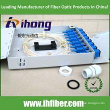 FTTH Caja de terminales de fibra óptica mini 8 puertos