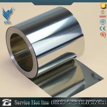 AISI Standard 304 316L 409 430 banda de aço inoxidável