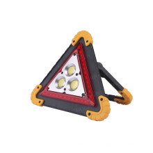 Luz de advertência de emergência multifuncional portátil COB