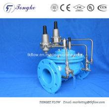 Vanne à membrane à commande contrôlée à commande hydraulique de la soupape de régulation de débit