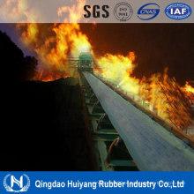 Cinta transportadora de borracha de algodão Multi-Ply Cc Flame Resistant