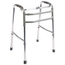 Caminante plegable del metal fuerte y durable