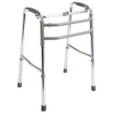 Walker métallique solide et durable pliable