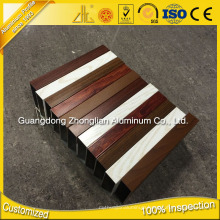 Zhonglian Custom Extruded Aluminum Factory Aluminium Tube